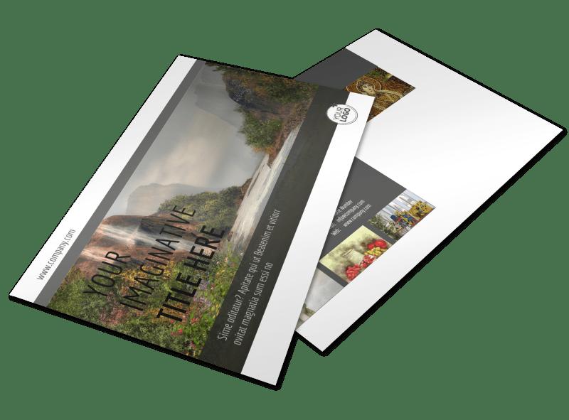 Art Exhibit Postcard Template Preview 1