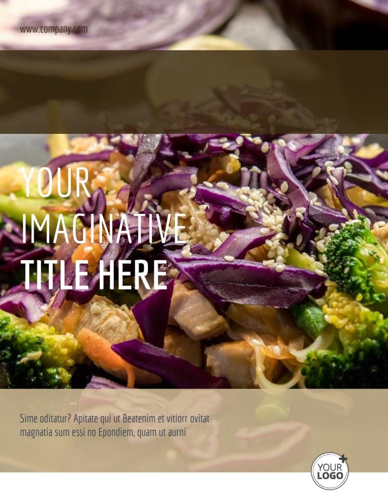 Asian Restaurant Flyer Template Preview 2