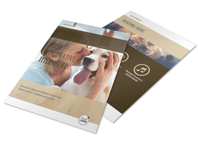 Pet Rescue Flyer Template Preview 4