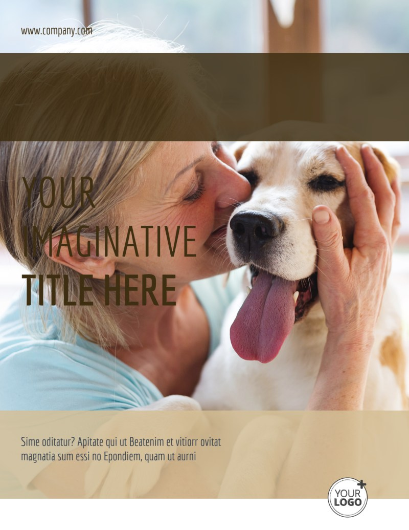 Pet Rescue Flyer Template Preview 2