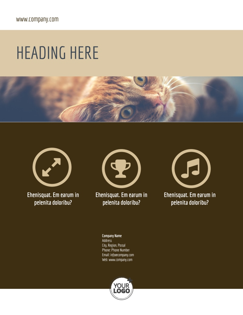 Pet Rescue Flyer Template Preview 3