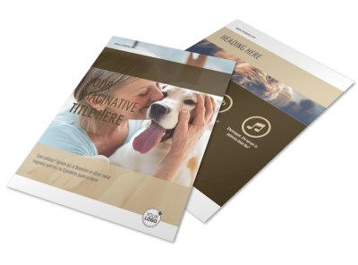 Pet Rescue Flyer Template