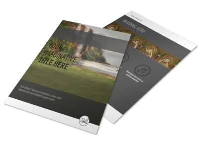 Art Exhibit Flyer Template preview