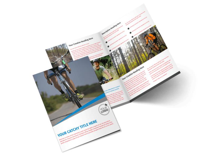 Biking & Cycling Activities Brochure Template Preview 4