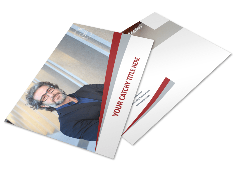 Criminal Law Firms Postcard Template Preview 1