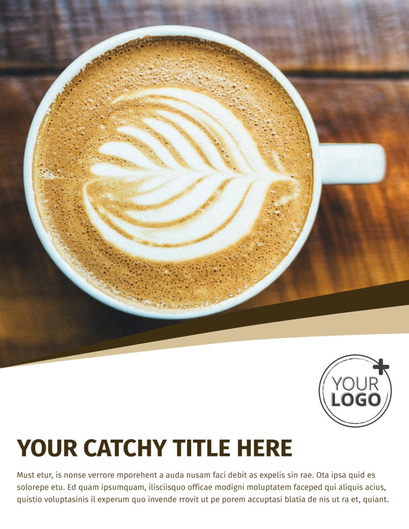 Coffee Shop Flyer Template Preview 2