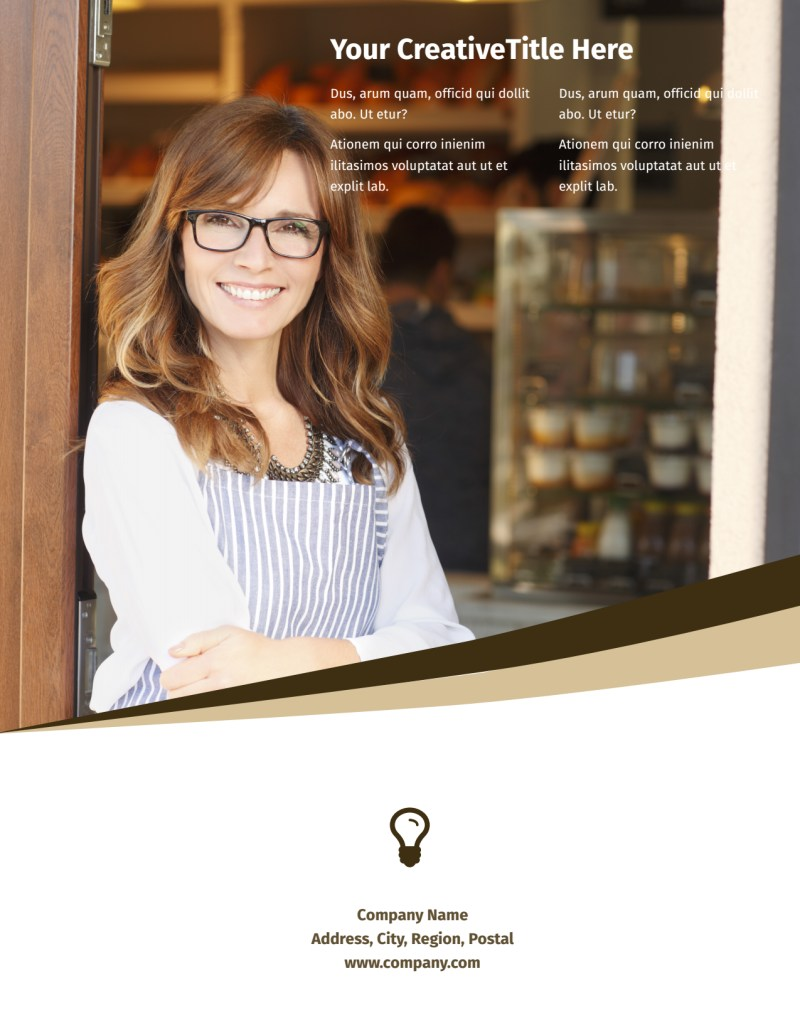 Coffee Shop Flyer Template Preview 3