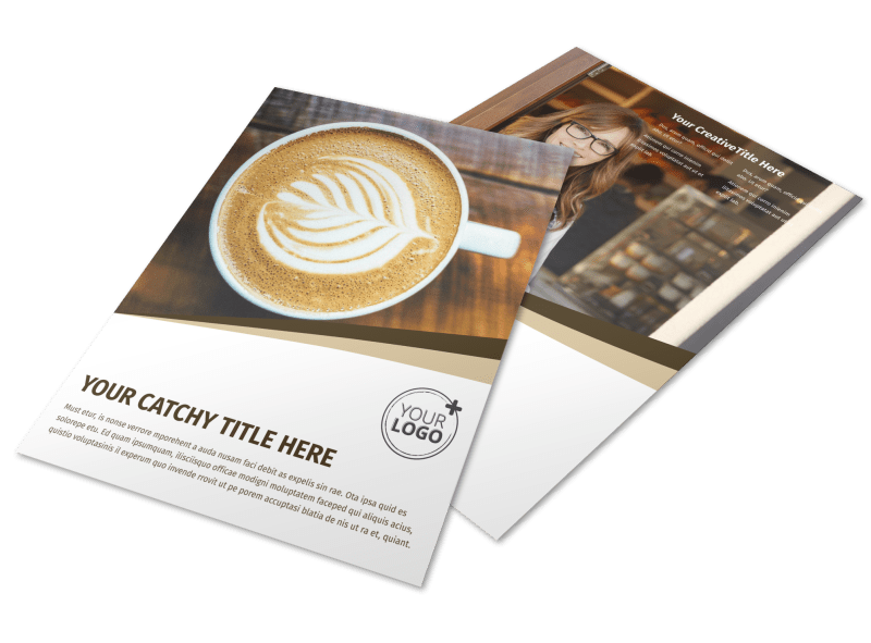 Coffee Shop Flyer Template Preview 1