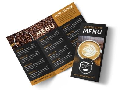 Coffee Latte Brochure Template
