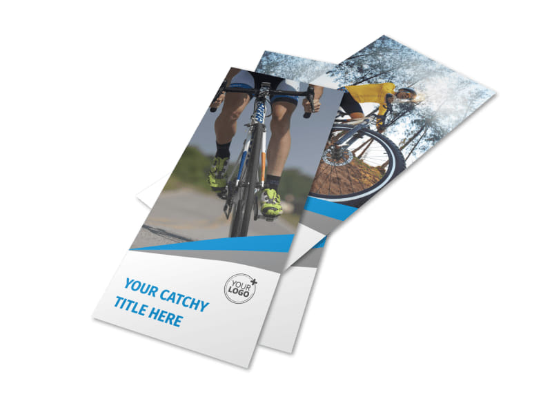 Biking & Cycling Activities Flyer Template Preview 4
