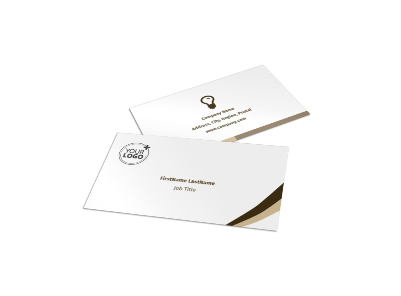 Coffee Latte Business Card Template