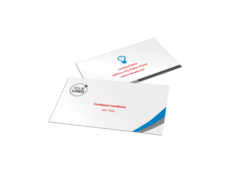 Biking & Cycling Activities Business Card Template Preview 4