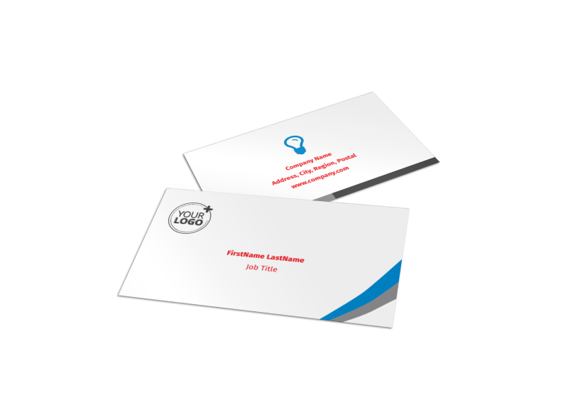 Biking & Cycling Activities Business Card Template Preview 1