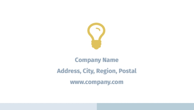 Digital Marketing Agency Business Card Template Preview 3