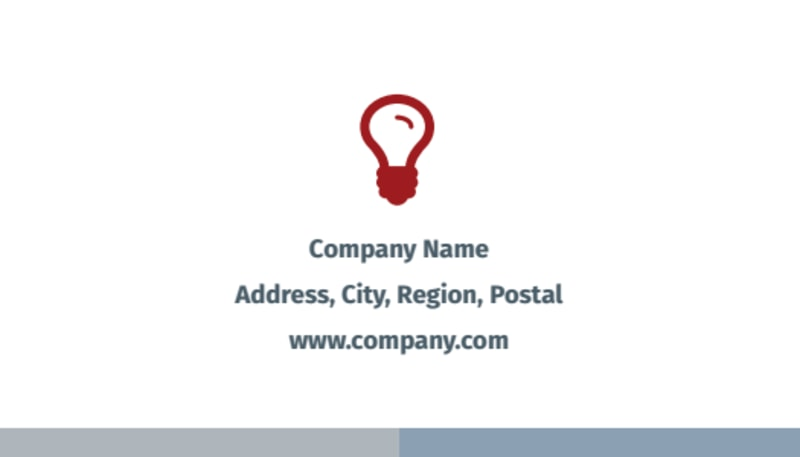 Criminal Law Firms Business Card Template Preview 3