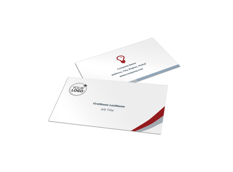 Criminal Law Firms Business Card Template Preview 1
