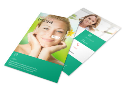 Skin Care Clinic Flyer Template 3