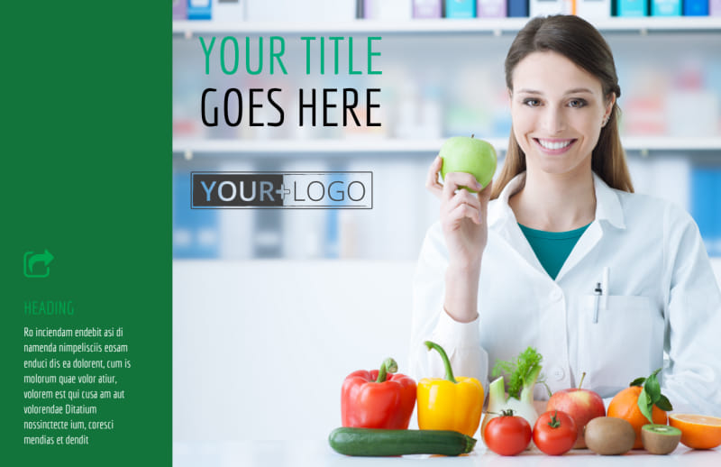 Dietitian Nutritionist Postcard Template Preview 2