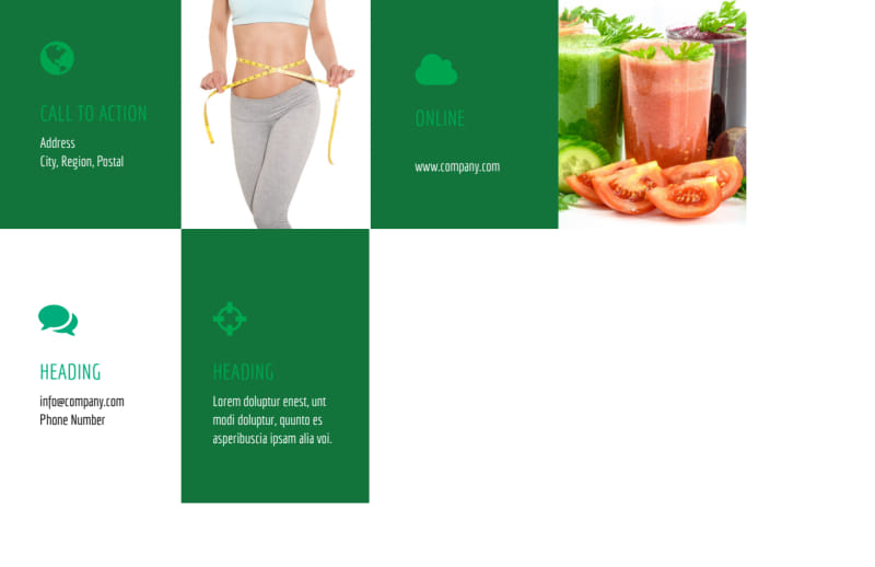 Dietitian Nutritionist Postcard Template Preview 3