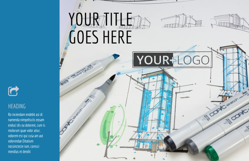 Graphic Design Service Postcard Template Preview 2