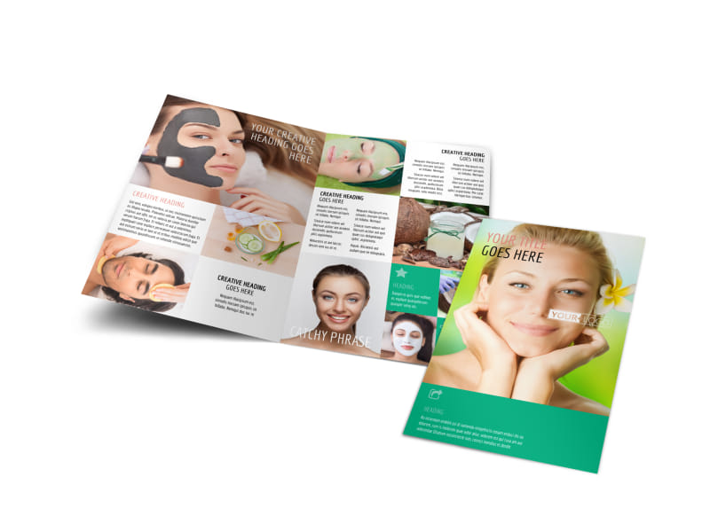 Skin Care Amp Dermatology Clinic Services Brochure Templates