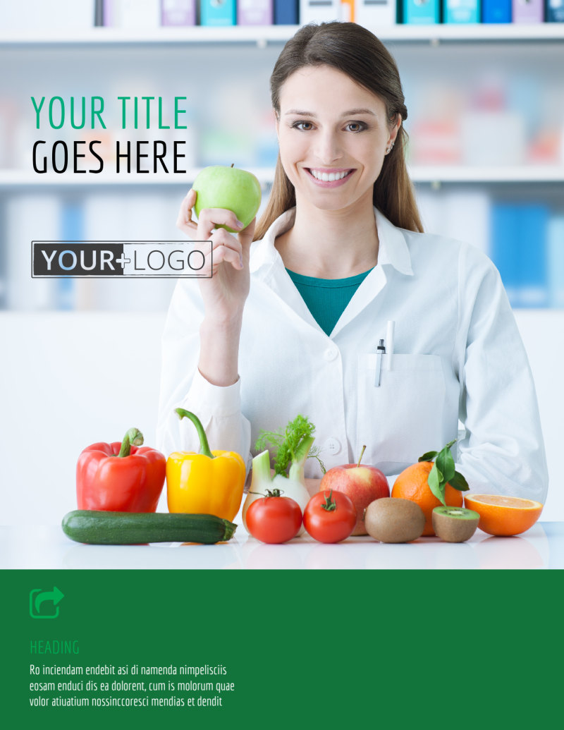 Dietitian Nutritionist Flyer Template Preview 2