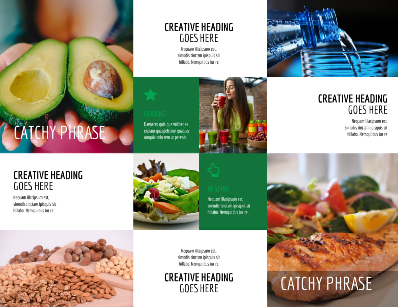 Dietitian Nutritionist Brochure Template Preview 3