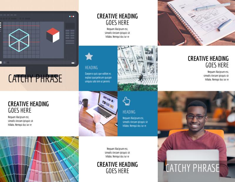 Graphic Design Service Brochure Template Preview 3