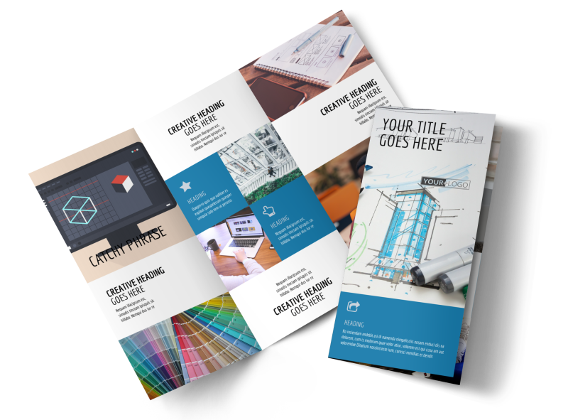 Graphic Design Service Brochure Template Preview 1