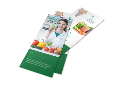 Nutritionist & Dietician Flyer Template 2