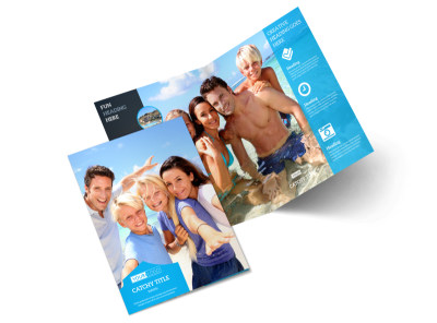 Getaway Beach Resort Bi-Fold Brochure Template 2