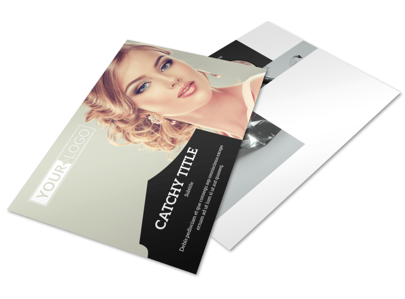 Jewelry Store Postcard Template Preview 1