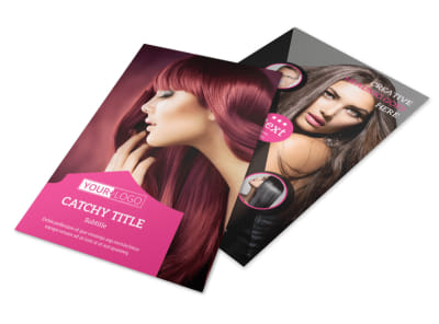 Perfect Stylish Hair Salon Flyer Template 3