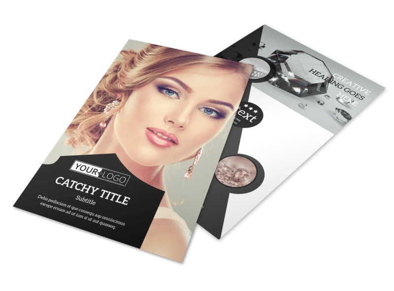 Jeweler & Jewelry Store Flyer Template 3