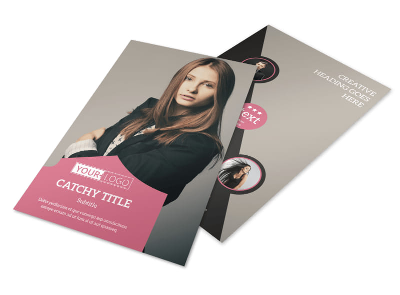Fashion Agency Flyer Template 3