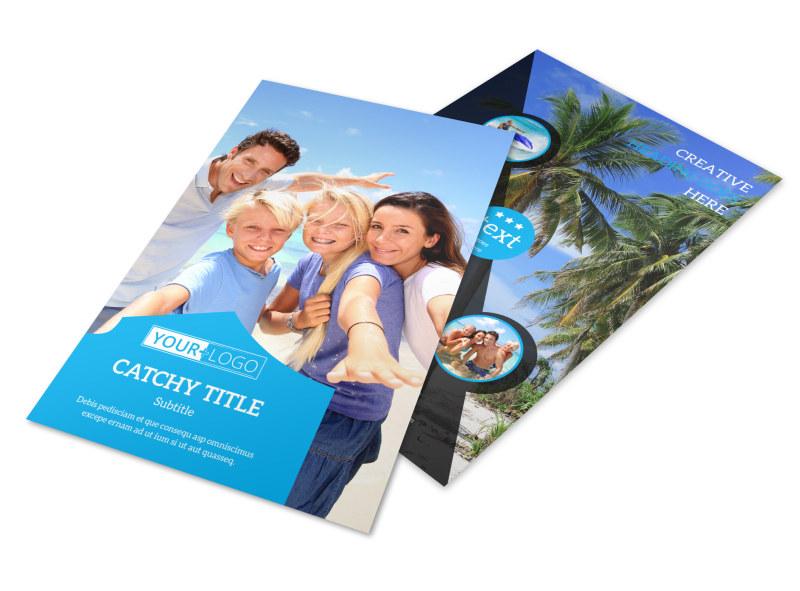 Getaway Beach Resort Flyer Template 3