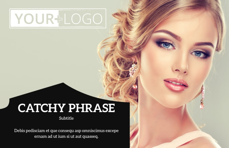 Jewelry Store Postcard Template Preview 2