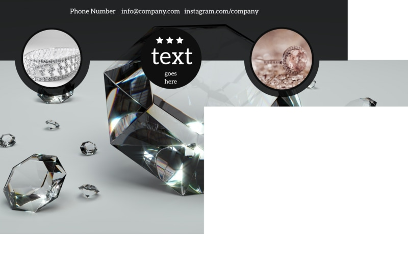 Jewelry Store Postcard Template Preview 3