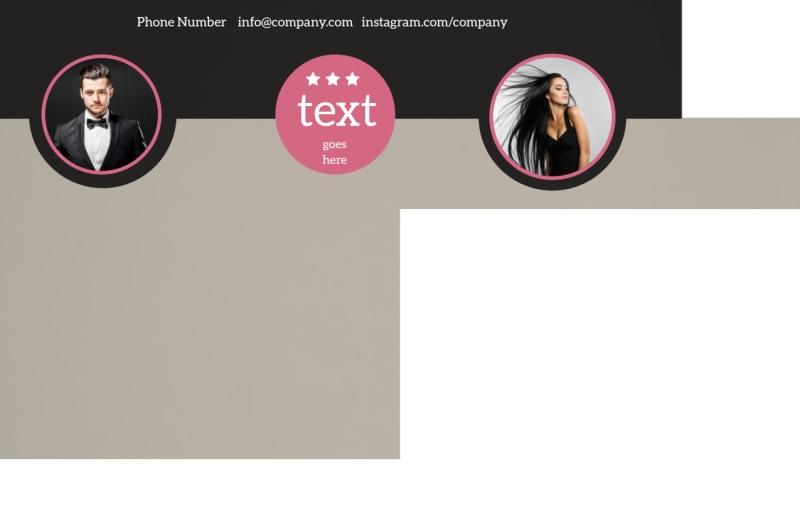 Fashion Agency Postcard Template Preview 3