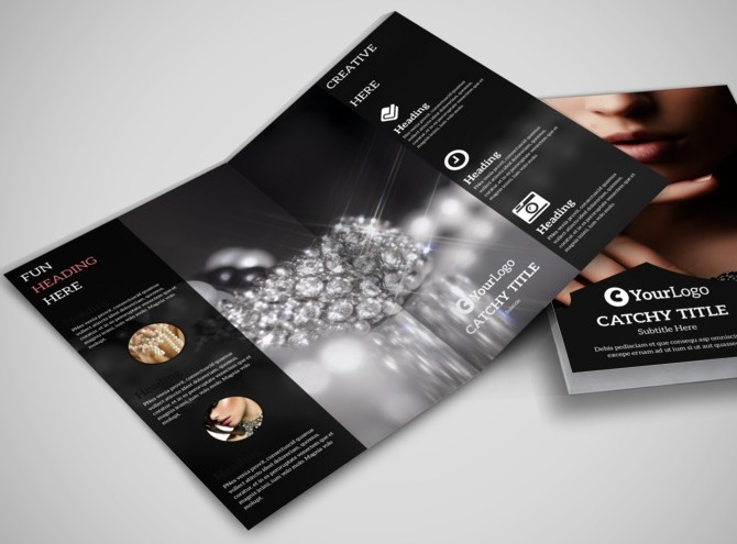 Jewelry Brochure Templates