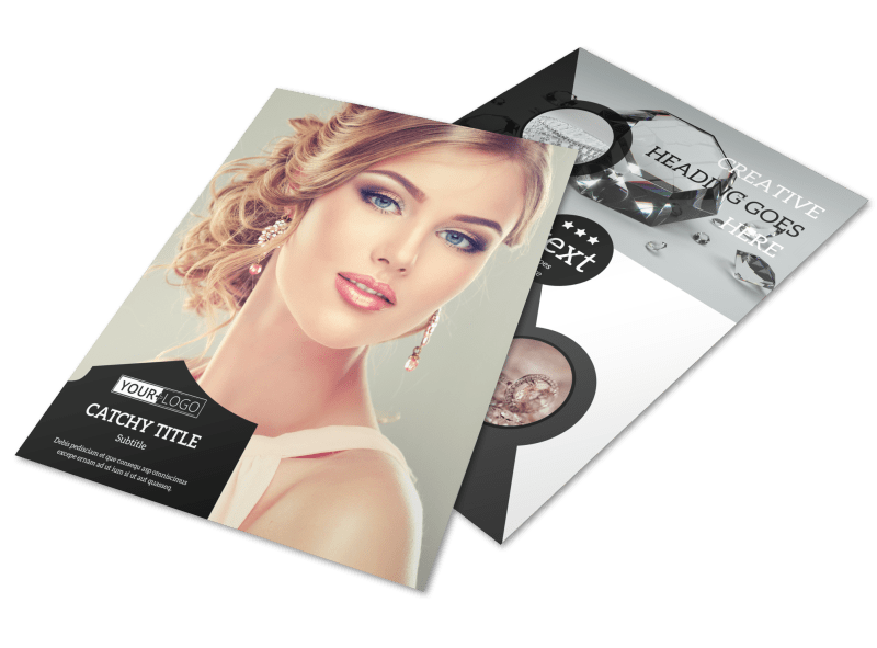 Jewelry Store Flyer Template Preview 1