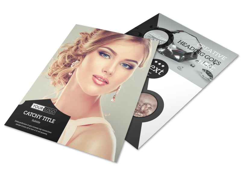 Jewelry Store Brochure Template | Mycreativeshop