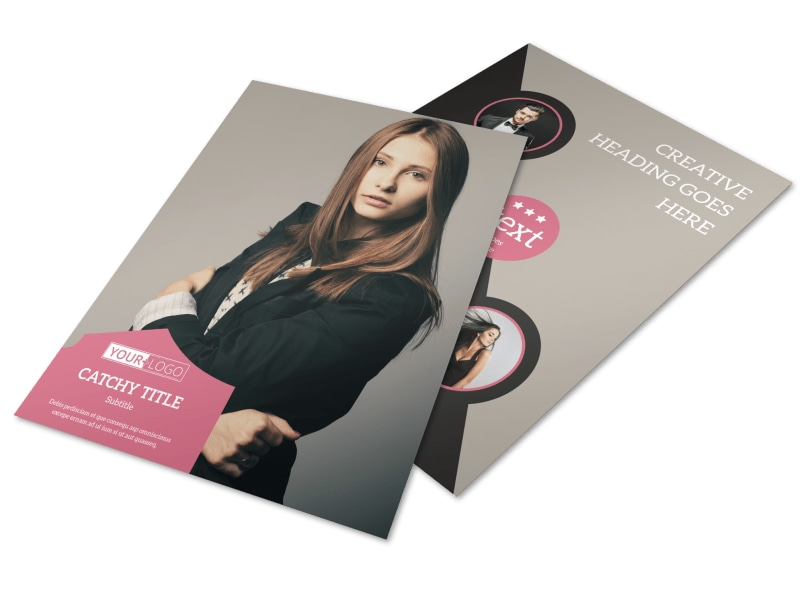 Fashion Agency Brochure Template  Mycreativeshop