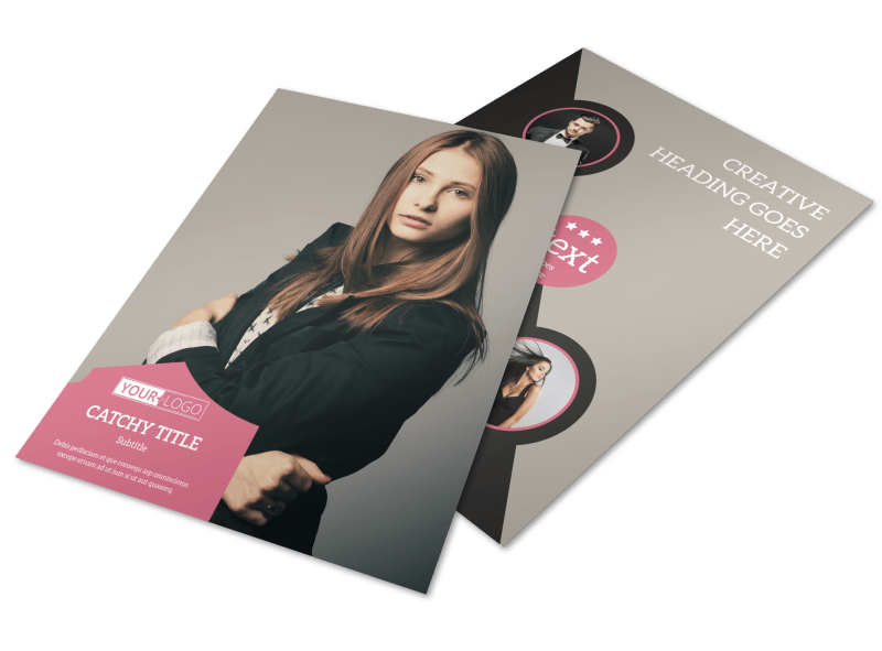 Fashion Agency Flyer Template Preview 1