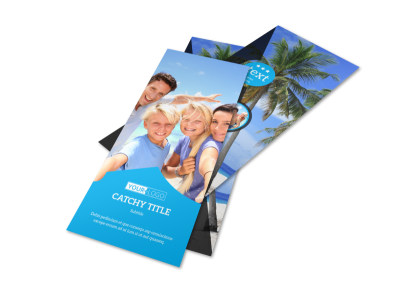 Getaway Beach Resort Flyer Template 2