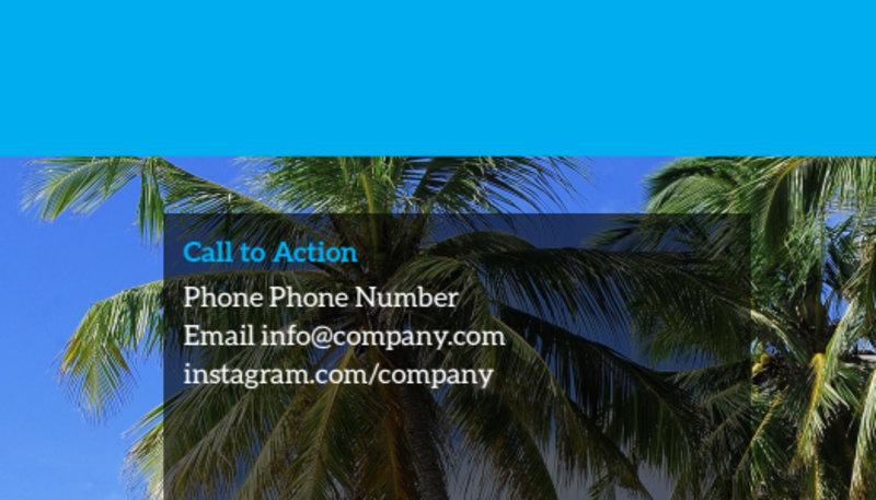 Getaway Beach Resort Business Card Template Preview 3