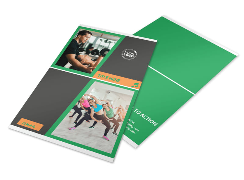 Strength Training Flyer Template 3