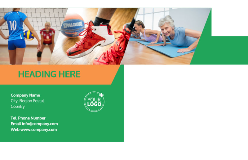 Gym Time Postcard Template Preview 3