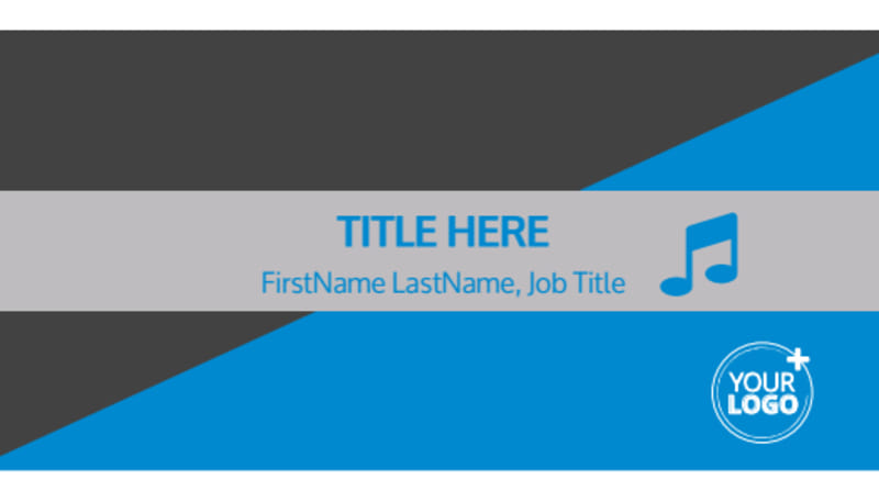 Above The Clouds Airline Business Card Template Preview 2