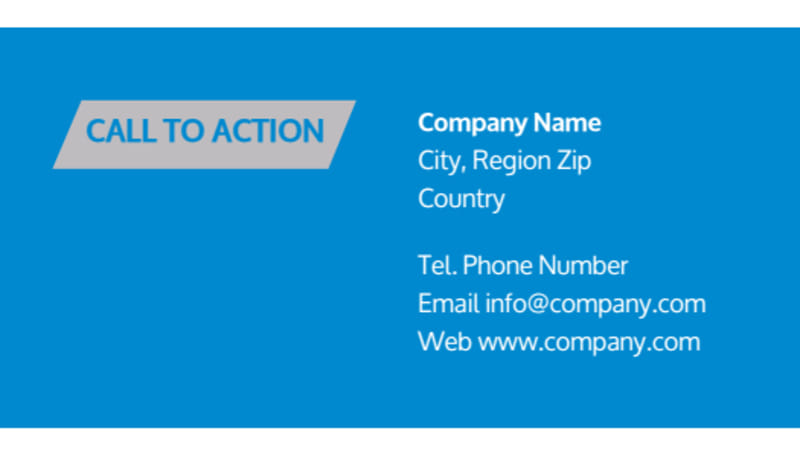 Above The Clouds Airline Business Card Template Preview 3